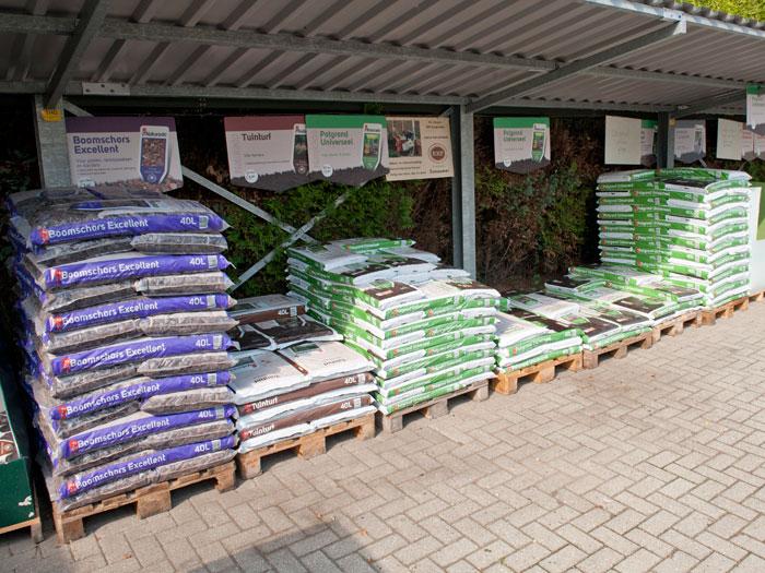 Tuinaarde, pootaarde en vele aanverwante tuinproducten